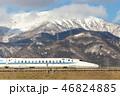 伊吹山 新幹線 雪山の写真 46824885