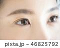 女性 人物 顔の写真 46825792