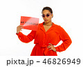 サングラス アフリカ系アメリカ人 女性の写真 46826949