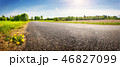 Road panorama on sunny spring day 46827099