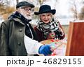 夫婦 ペインター 画家の写真 46829155
