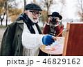 夫婦 ペインター 画家の写真 46829162