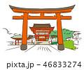京都府京都市/伏見稲荷大社 46833274