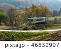 列車 飯山線 ローカル線の写真 46839997