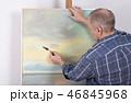 描画 絵画 絵画制作の写真 46845968