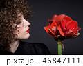 ポートレート ひとり 女性の写真 46847111