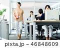 オフィス ビジネスウーマン ビジネスの写真 46848609
