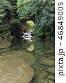 濃溝の滝 川 洞窟の写真 46849005