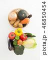 野菜 食べ物 食材の写真 46850454