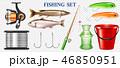 釣り フィッシング 魚採りのイラスト 46850951