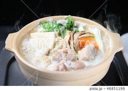 鶏白湯鍋 46851199