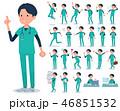 男性 医者 外科医のイラスト 46851532