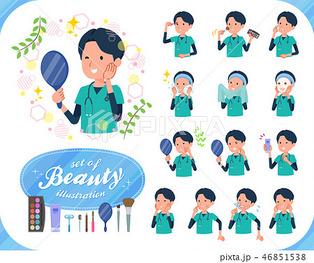 flat type surgical doctor men_beauty 46851538