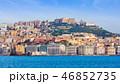View from sea on Naples coastline, Italy 46852735