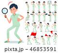 flat type patient men_Action 46853591