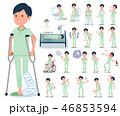 flat type patient men_sickness 46853594