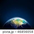 地球 マップ 地図のイラスト 46856058