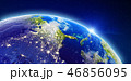 アメリカ 米国 地球のイラスト 46856095