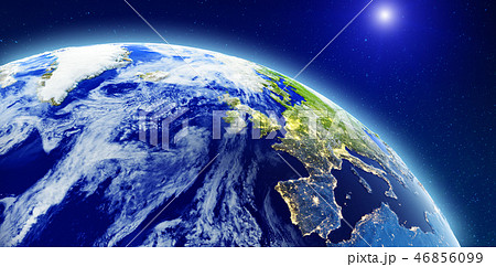 North Europe from space 46856099