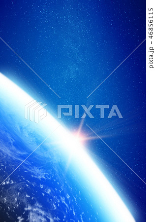 Planet Earth stratosphere 46856115