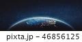 米国 地球 スペースのイラスト 46856125