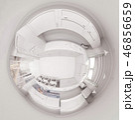 3d illustration of the kitchen interior design in Scandinavian c 46856659
