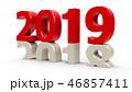 2019 年 年間のイラスト 46857411