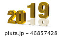 2019 2018 金のイラスト 46857428