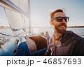 海 帆 航海の写真 46857693