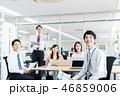 会議 ビジネスマン ビジネスの写真 46859006