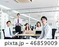 会議 ビジネスマン ビジネスの写真 46859009
