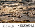 海 夕暮れ 海岸の写真 46859548