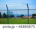日本 基地 柵の写真 46860675