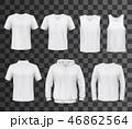 シャツ Yシャツ Tシャツのイラスト 46862564