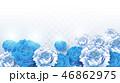 花 アジア人 アジアンのイラスト 46862975