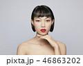 女性 アジア人 ビューティーの写真 46863202