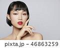 女性 アジア人 ビューティーの写真 46863259