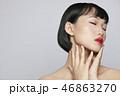 ポートレート 女性 アジア人の写真 46863270