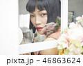 ポートレート 女性 ビューティーの写真 46863624