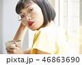 ポートレート 女性 若い女性の写真 46863690