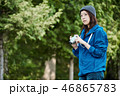 女性 女子 旅行の写真 46865783