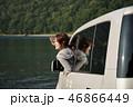 女性 支笏湖 ドライブの写真 46866449