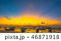ビーチ 漁船 釣船の写真 46871918