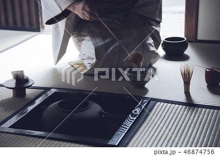 茶道 炉 手元 46874756