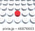 3D 不満 組織のイラスト 46876603