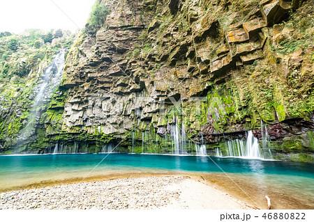 雄川の滝(鹿児島県南大隅町) 46880822