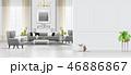 インテリア 空間 部屋のイラスト 46886867