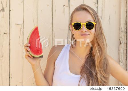 Summertime in garden 46887600