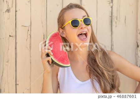 Summertime in garden 46887601