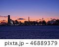 都市風景 横浜 みなとみらいの写真 46889379